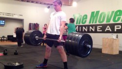 Andy Deadlifting