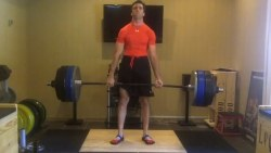 Ron H Deadlifting